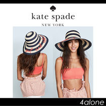 kate spade new york☆Out & About ストローハット