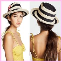 *kate spade new york*★Blossom Embroidered Trilby ハット