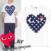 ● COMME des GARCONS PLAY ●新! POLKA DOT HEART Tシャツ