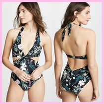 *kate spade new york*★Playa Carmen Knotted Halter one-piece