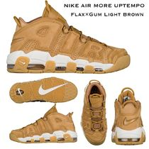 NIKE AIR MORE UPTEMPO '96 (FLAX, GUM & LIGHT BROWN)