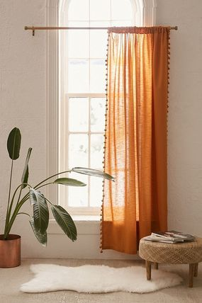 Urban Outfitters カーテン 大人気♪ Urban Outfitters Pompom Curtain カーテン(6)