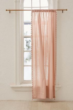 Urban Outfitters カーテン 大人気♪ Urban Outfitters Pompom Curtain カーテン(10)