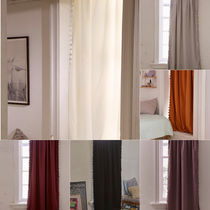 大人気♪ Urban Outfitters Blackout Pompom Curtain カーテン