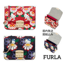 FURLA×Hello KITTY コラボ☆KITTY S CROSSBODY ミニショルダー