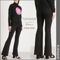 【国内発送・関税込】TOPSHOP★Flared Jamie high-rise jeans