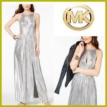 限定SALE【Michael Kors】パーティードレス★ Metallic Maxi