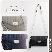 【国内発送・関税込】TOPSHOP★**Quilted Shoulder Bag