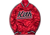 Kith x Mitchell & Ness Satin Warm-Up Jacket