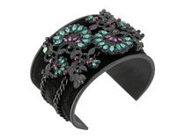 Steve Madden Floral Patterned Bangle 送料関税込