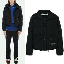 18-19AW OW054 TECHNICAL FABRIC DOWN JACKET