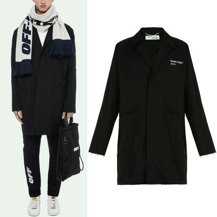 Off-White コートその他 18-19AW OW055 QUOTE WORK COAT