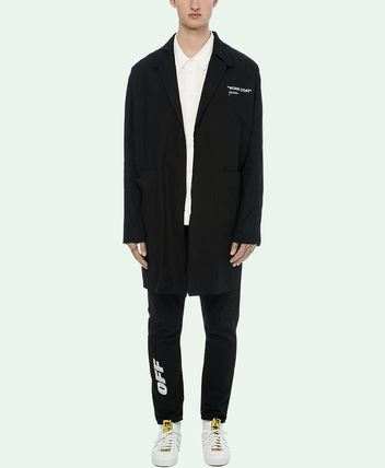 Off-White コートその他 18-19AW OW055 QUOTE WORK COAT(2)