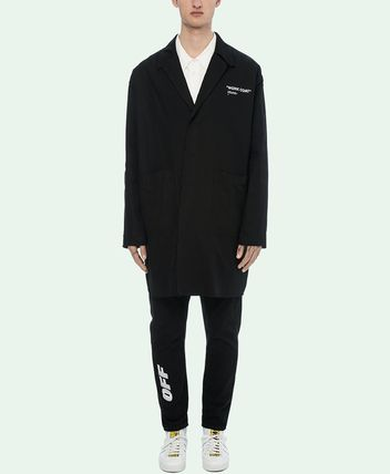 Off-White コートその他 18-19AW OW055 QUOTE WORK COAT(3)