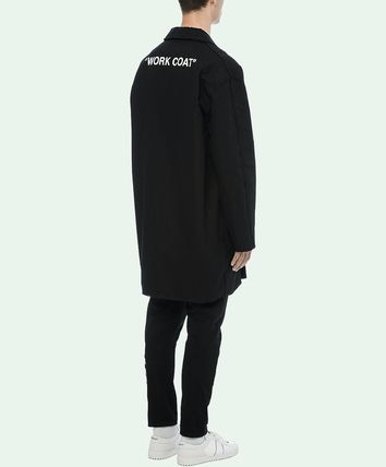 Off-White コートその他 18-19AW OW055 QUOTE WORK COAT(5)