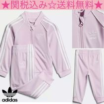 ★adidas★SST TRACK SUIT★ロゴ入りセットアップ★ピンク★