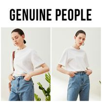 【GENUINE PEOPLE】●日本未入荷●Oversized Tee Shirt