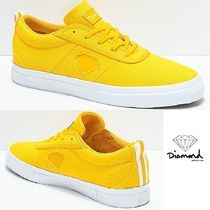 Diamond Supply Co★イエローCanvas Skate Shoes