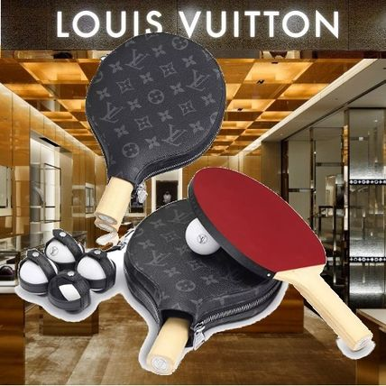 Louis Vuitton スポーツその他 LOUIS VUITTON★セット PING-PONG ジェームズ  卓球ラケット