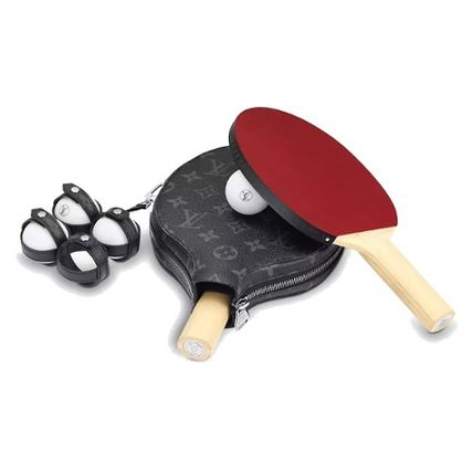 Louis Vuitton スポーツその他 LOUIS VUITTON★セット PING-PONG ジェームズ  卓球ラケット(3)