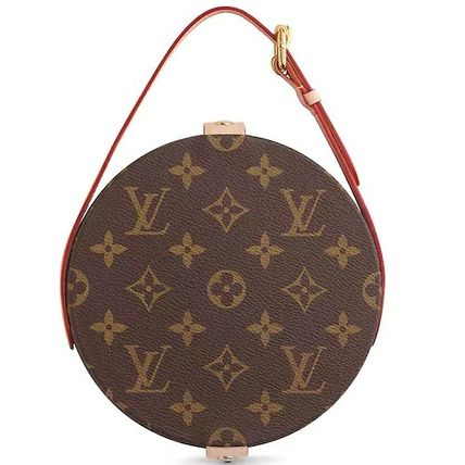 Louis Vuitton 鏡 LOUIS VUITTON★MIROIR DORIAN モノグラム  ミラー brown(4)