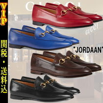 """◆◆VIP◆◆GUCCI """"Jordaan"""" leather ヨルダーン LEATHER LOAFER"""