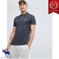 ◆Abercrombic&Fitch アバクロ Moose Icon slim Fit Poloシャツ