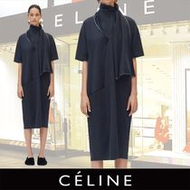 CELINE T-shirt Dress in Cotton Jersey 関税送料込