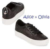 Alice+Olivia(アリスオリビア) スニーカー セール!Alice + Olivia Pemton Leather Sneakers