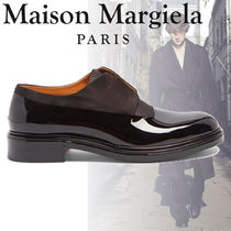 【関税込み】Maison Margiela★Patent-leather derby shoes