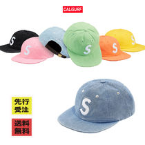 【BUYMA最安値】Supreme WEEK15 washed chambray S logo 6Panel
