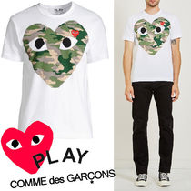 ● COMME des GARCONS PLAY ●レア! HEART Tシャツ 迷彩ハート