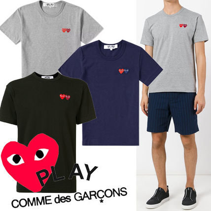 ● COMME des GARCONS PLAY ●新! ダブルハート Tee 3色