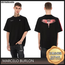 [19AW]送料込◆MARCELO BURLON Wings Barcode プリント Tシャツ