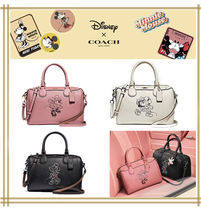 DISNEYxCOACH★MINI BENNETT  WITH MINNIE MOUSE F29356