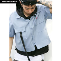 ANOTHERYOUTH(アナザーユース) シャツ ANOTHERYOUTH正規品★18SS★クロップストラップシャツ★UNISEX