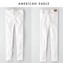 ☆American Eagle Outfitters☆  デニムホワイトスキニーパンツ