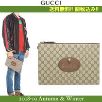 18AW新作,関税込★GUCCI(グッチ) NEW VINTAGE クラッチバッグ