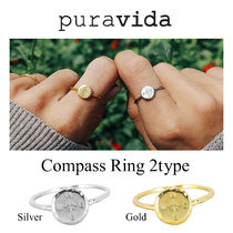Ron Herman 取扱 Pura vida Compass Ring 2 Type リング 指輪