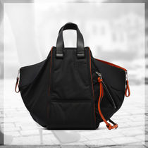 LOEWE★大人気 BLACK HAMMOCK BOMBER BAG
