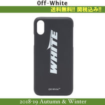 18AW,関税込★Off-White(オフホワイト) WING OFF iphoneXケース
