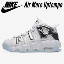 希少カラー☆Nike Air More Uptempoモアテン Blue Tint / Chrome