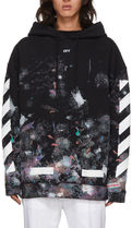 Off-White(オフホワイト) パーカー・フーディ 《 OFF-WHITE 》DIAG GALAXY OVER HOODIE ギャラクシーパーカー