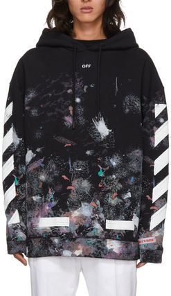 《 OFF-WHITE 》DIAG GALAXY OVER HOODIE ギャラクシーパーカー