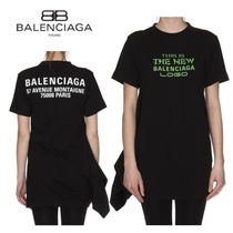 【送関込】BALENCIAGA THE NEW BALENCIAGA ロゴ Tシャツ