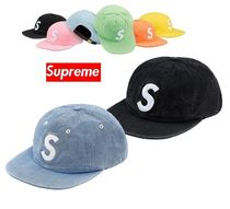 ★Supreme★Washed Chambray S Logo 6-Panel 18 SS WEEK 15