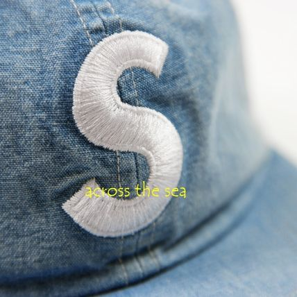 Supreme キャップ ★Supreme★Washed Chambray S Logo 6-Panel 18 SS WEEK 15(7)