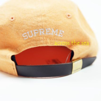 Supreme キャップ ★Supreme★Washed Chambray S Logo 6-Panel 18 SS WEEK 15(11)