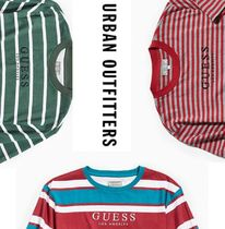 """""""GUESS"""" ボーダー ロゴ Tシャツ GUESS St. James Stripe Tee"""
