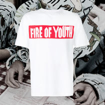**LOEWE** 2018SS fire of youth T-shirt ファイアオブユース
